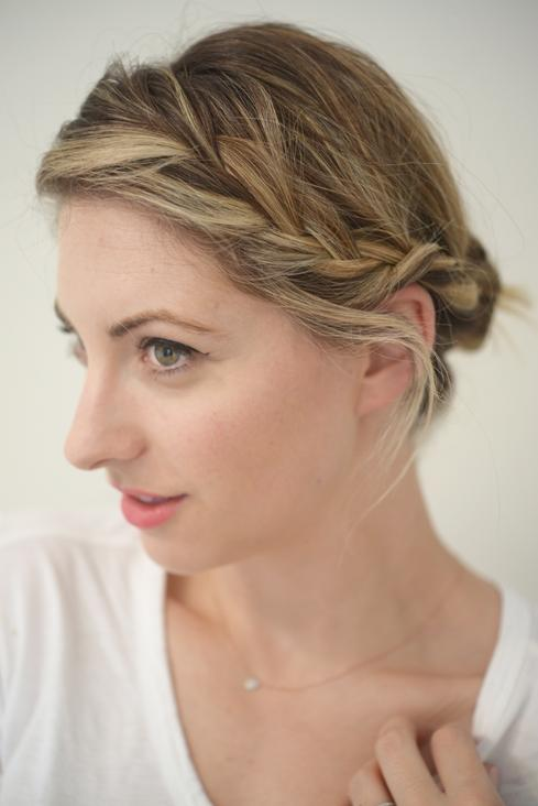 side braid end style c&c hair