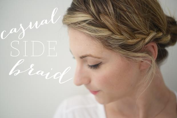 CUPCAKES AND CASHMERE SIDE BRAID