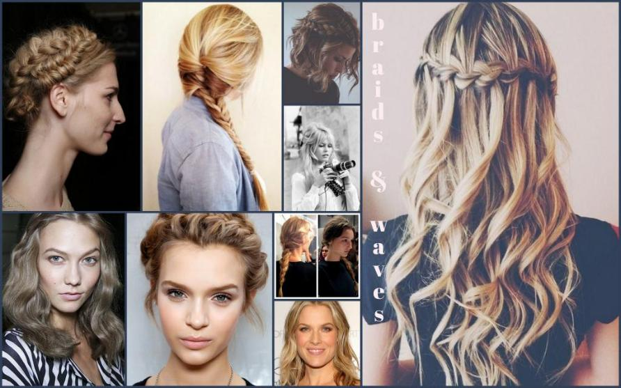 Spring 2014 Hair Trends braids waves bobs Gel Salon Cary Hair
