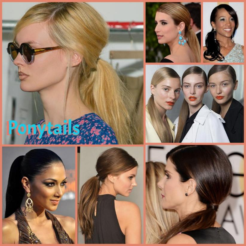 ponytails side pony 2014 hair trends Gel Salon Cary