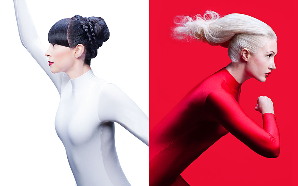 Figure skate and Speed skate hair by Wella for Sochi Olympics 2014
